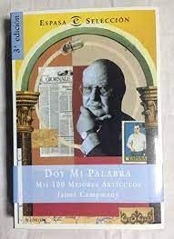 DOY MI PALABRA