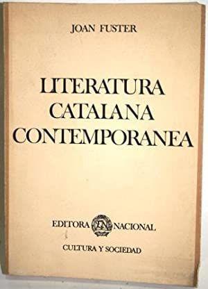 LITERATURA CATALANA CONTEMPORÁNEA