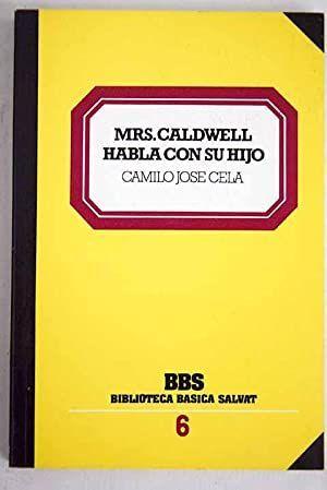 MRS. CALDWELL HABLA CON SU HIJO
